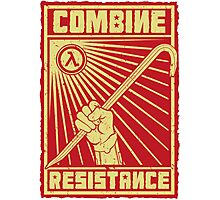 Combine Resistance Photographic Print