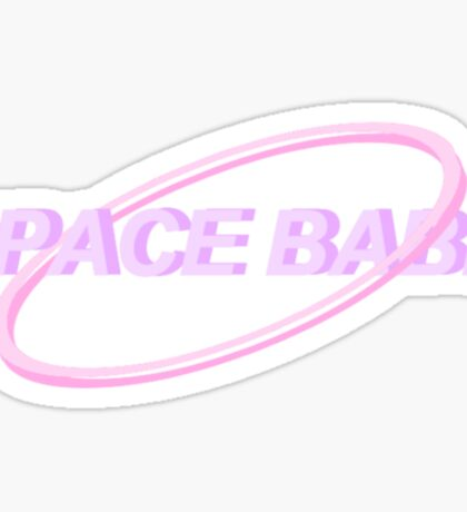 SPACE BABE TUMBLR Sticker