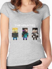 The Haunted - Pixelated Women's Fitted Scoop T-Shirt