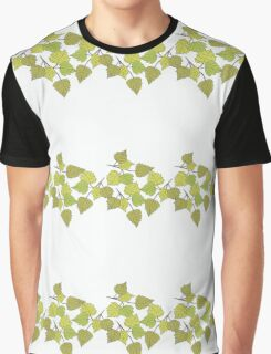 Birch leaves Graphic T-Shirt