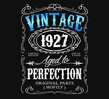 Vintage 1927 aged to perfection 89th birthday gift for men 1927 birthday Unisex T-Shirt