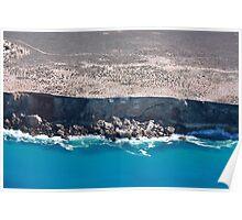 Bunda Cliffs Nullarbor Poster