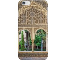 Daraxa's Mirador, Nasrid Palaces, The Alhambra, Granada, Spain iPhone Case/Skin