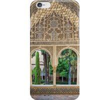 Daraxa's Mirador, Nasrid Palaces, The Alhambra, Granada, Spain iPhone Case/Skin