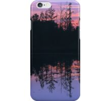 Reflections on Circle Lake iPhone Case/Skin