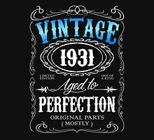 Vintage 1931 aged to perfection 85th birthday gift for men 1931 birthday Unisex T-Shirt