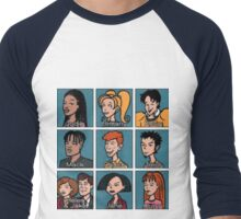 Daria Characters Men's Baseball ¾ T-Shirt