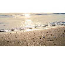 On the silvery shore Photographic Print