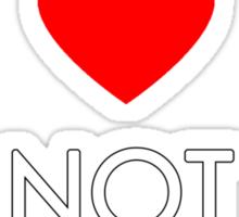 Make Love Not Uruk-hai Sticker
