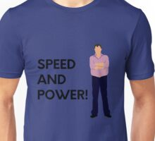 "Jeremy Clarkson ""Speed and power!"" original design Unisex T-Shirt"
