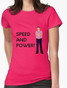 """""""Speed and power!"""" original design Womens Fitted T-Shirt"""