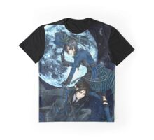full moon with ciel and bassy  Graphic T-Shirt