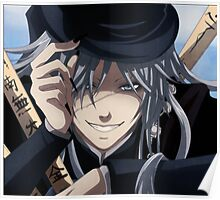 the undertakers grin Poster