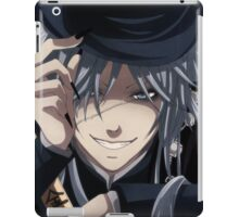 the undertakers grin iPad Case/Skin