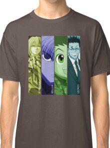 Gon, Leorio, Killua & Kurapika Anime Manga Shirt Classic T-Shirt