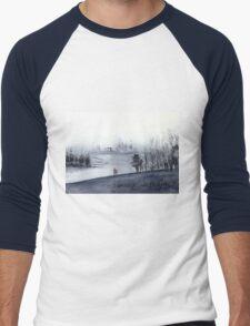 Mist Men's Baseball ¾ T-Shirt