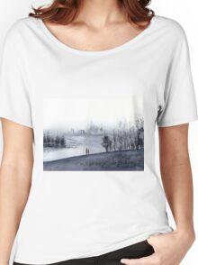 Mist Women's Relaxed Fit T-Shirt