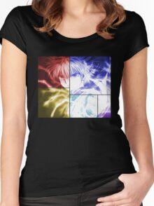 Killua Anime Manga Shirt Women's Fitted Scoop T-Shirt