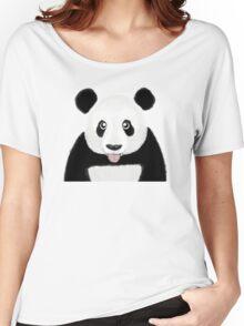 Cute Panda Women's Relaxed Fit T-Shirt