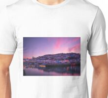 Brixham Harbour (UK) at Sunset Unisex T-Shirt