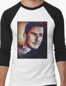 Errol Flynn Vintage Hollywood Actor Men's Baseball ¾ T-Shirt