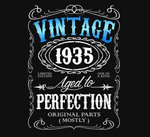 Vintage 1935 aged to perfection 81st birthday gift for men 1935 birthday Unisex T-Shirt