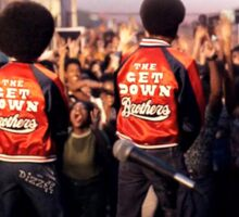 The Get Down Brothers Sticker