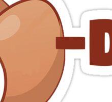 Eggs-DEE Sticker