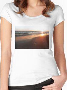 BEACH DAYS VI Women's Fitted Scoop T-Shirt