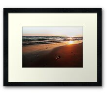 BEACH DAYS VI Framed Print
