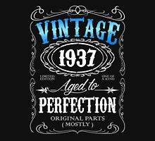Vintage 1937 aged to perfection 79th birthday gift for men 1937 birthday Unisex T-Shirt