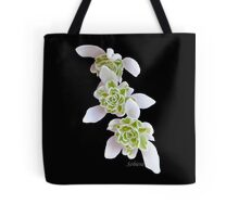Marching Snow Drops Tote Bag