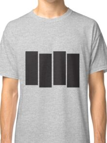 Black Flag Logo Bars Only Classic T-Shirt