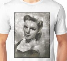 Judy Garland Vintage Hollywood Actress Unisex T-Shirt