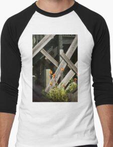 Fences at plantation Men's Baseball ¾ T-Shirt