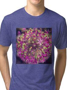 Flower firework Tri-blend T-Shirt