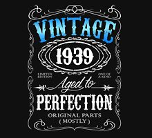 Vintage 1939 aged to perfection 77th birthday gift for men 1939 birthday Unisex T-Shirt