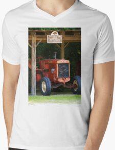 Tractor Mens V-Neck T-Shirt