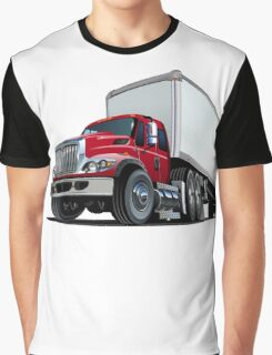 Cartoon semi truck Graphic T-Shirt