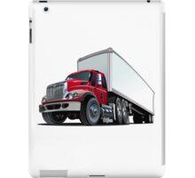 Cartoon semi truck iPad Case/Skin