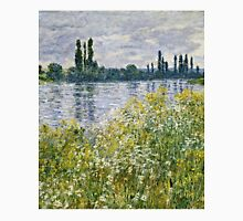 Claude Monet - Banks Of The Seine, Vetheuil 1880  Unisex T-Shirt