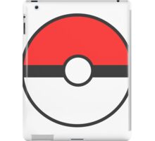 Pokemon Red Pokeball iPad Case/Skin