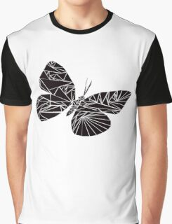 Geometric black butterfly Graphic T-Shirt