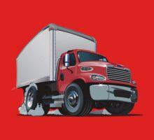 Cartoon delivery cargo truck One Piece - Short Sleeve