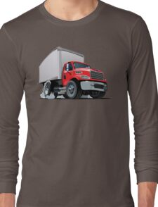 Cartoon delivery cargo truck Long Sleeve T-Shirt
