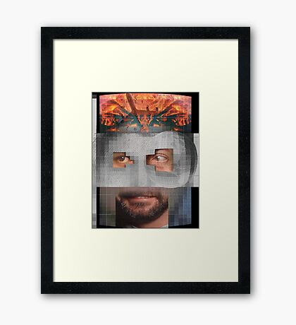 Character Identity Search 3 Framed Print