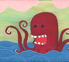 Red Sea Monster by Msmaddie