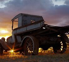 Vintage Sunset by Penny Kittel