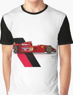 Jean Alesi - Ferrari 412T2 1995 Graphic T-Shirt