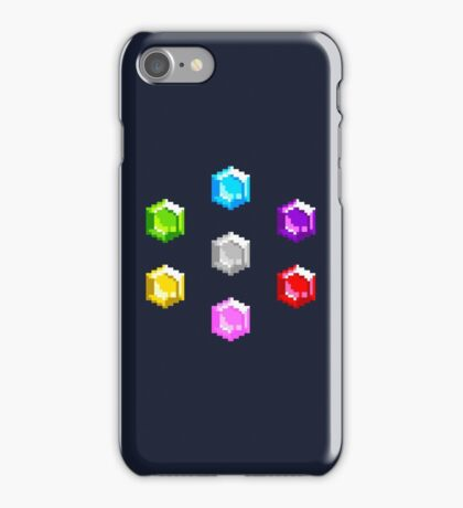 Sonic 2 Emeralds iPhone Case/Skin